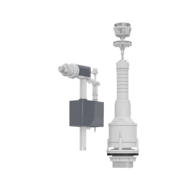 Mega Push Type with Side Entry for Flash Tank Fitt 3025